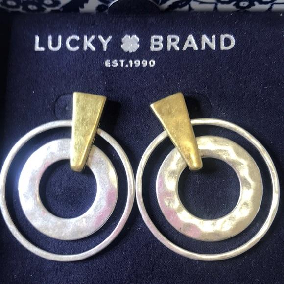 LUCKY BRAND BOXED EARRINGS